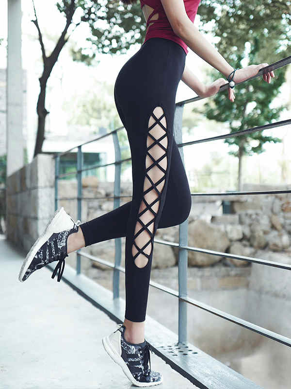 Women high waist yoga pants