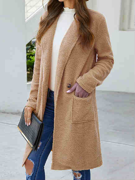 Fashion Fall and Winter Woolen Coat