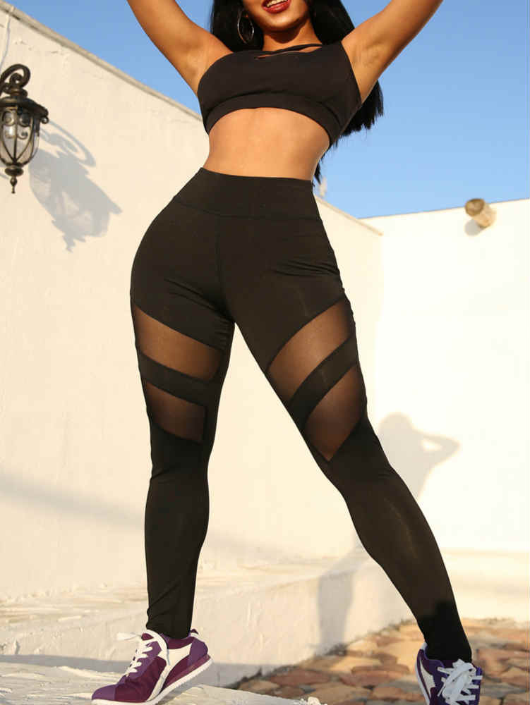 Mesh Fit Yoga leggings