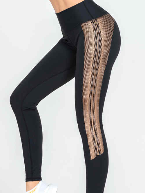 High Waist Quick-Drying Stretch Leggings