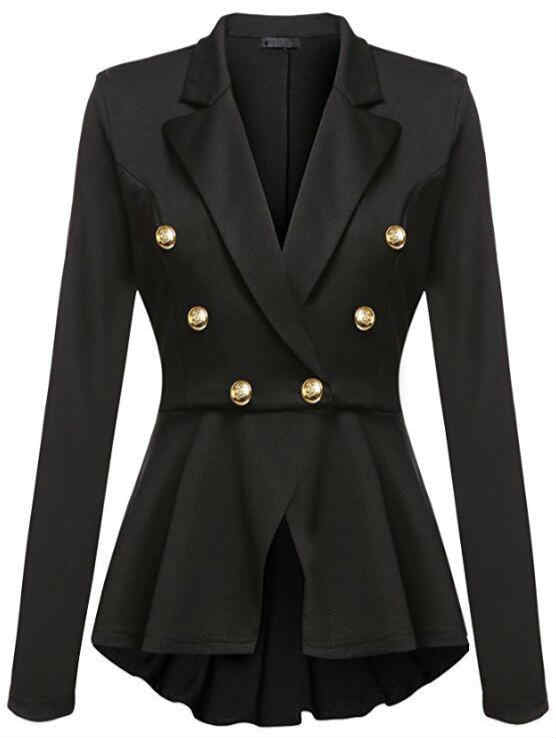 Long Sleeve Skirt Lining Suit Coat