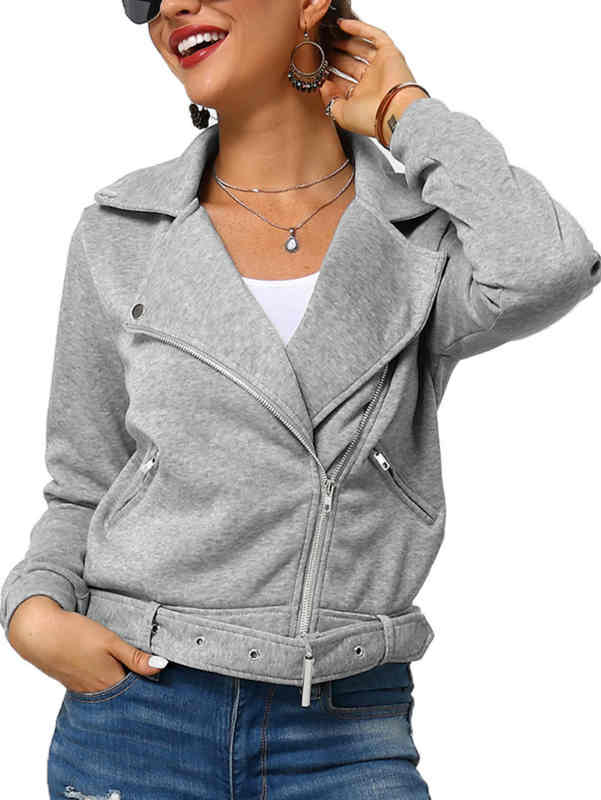 V-neck Short Length Thick Fall and Winter Coat