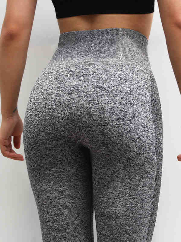 Solid Color Fit Sports Leggings