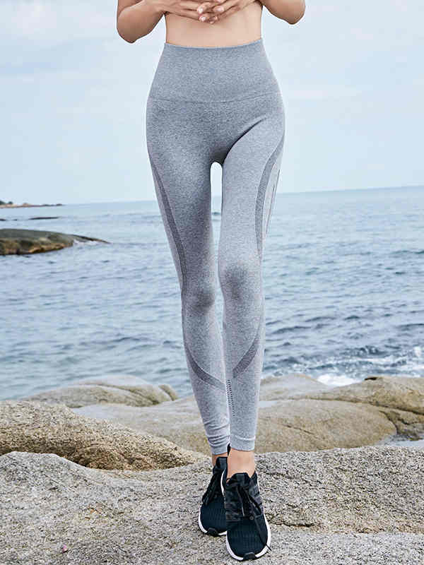 Yoga pants wide stretch high waist breathable