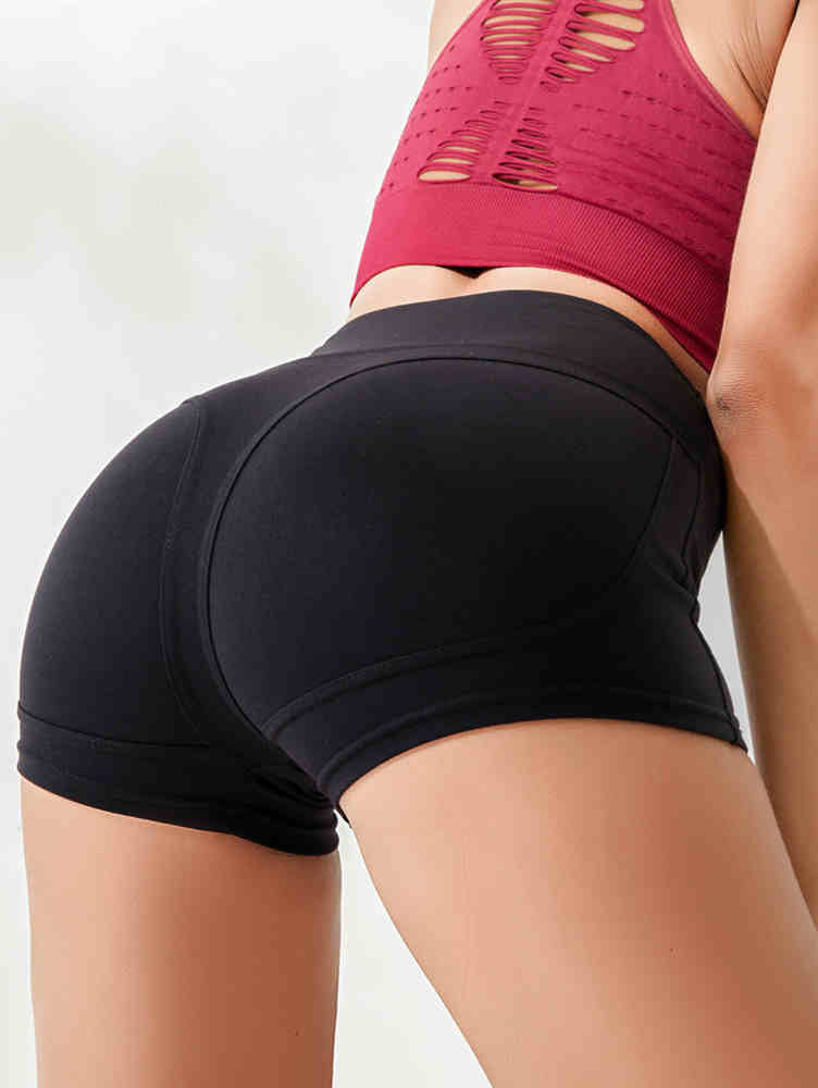 Tight Hip-up Sports Hot Pants