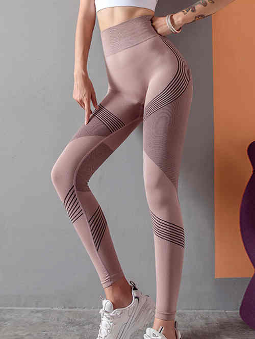 Knit Seamless Fitness Sports Leggings