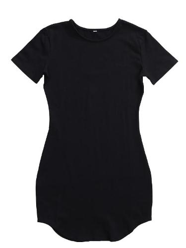 Basic T-shirt Mini Dress