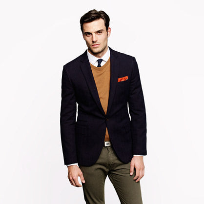 Check Two Button Blazer