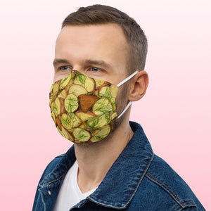 kauke veido veidui maske mask face cold beet soup pink soup lietuviskas maistas.dovana ideja dovanoti unikali rozine kauke lithuanian fashion foodroobai fudrubai foodrubai bulves virtos keptos su krapais krapai saltibarsciai potatoe mask maska bulba