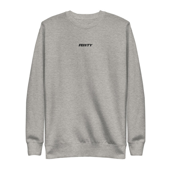 Feisty Embroidered Sweatshirt