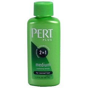Pert Happy Medium 2 in 1 Shampoo Plus Conditioner, 1.7 Fl Oz