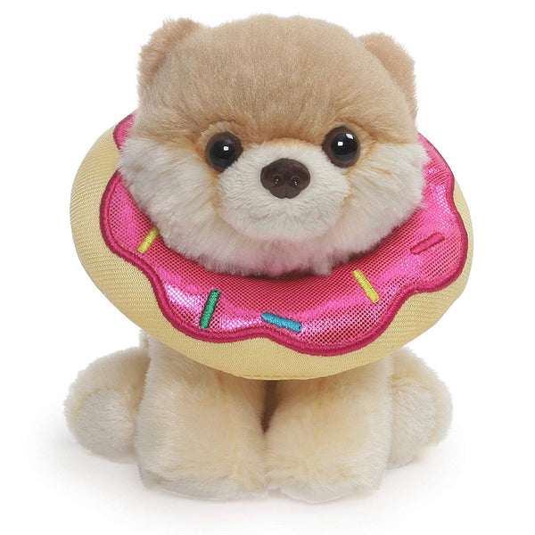GUND Boo World's Cutest Dog Itty Bitty Boo Donut Stuffed Animal, 5""