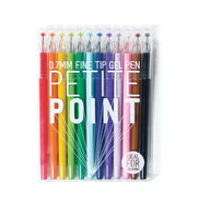 OOLY, Petite Point Gel Pens, Set of 12 (132-066)