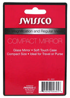 Swissco Mirror Compact & Magnifying 5X (2 Pack)