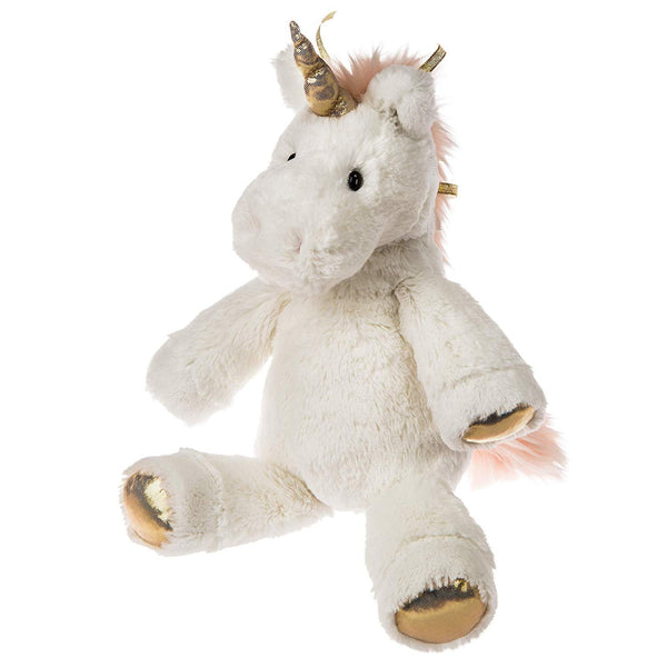 Mary Meyer FabFuzz Stuffed Animal Soft Toy, 13-Inches, Flurry Unicorn