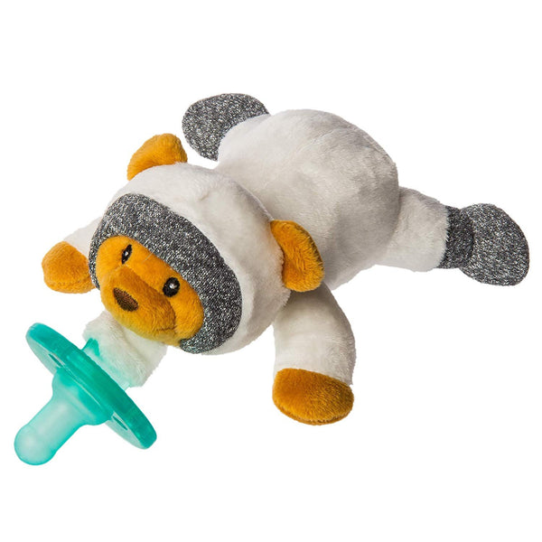 Mary Meyer Wubbanub Soft Toy & Infant Pacifier, Cosmo Bear