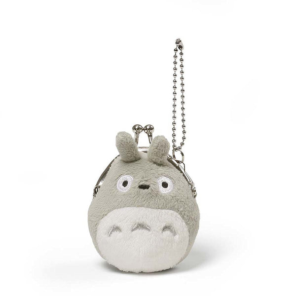 Gund Totoro Totoro Mini Coin Purse Grey-3""