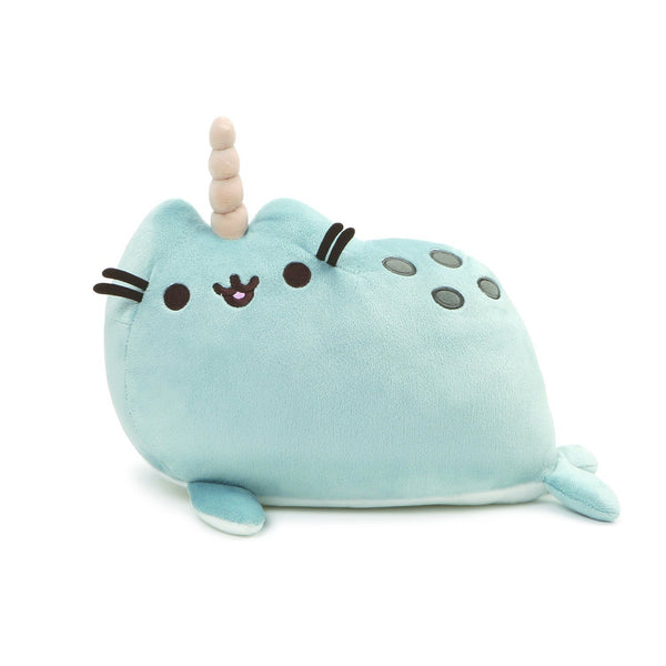 "GUND Pusheen Pusheenimal Narwhal Plush Stuffed Animal 13"", Blue"