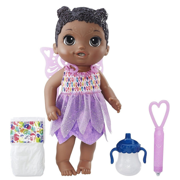 Hasbro Baby Alive Face Paint Fairy Doll (African American)