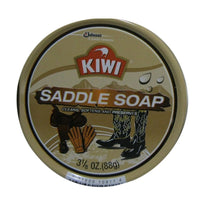 Kiwi Saddle Soap, Cleans, Softens And Preserves - 3.12 Oz