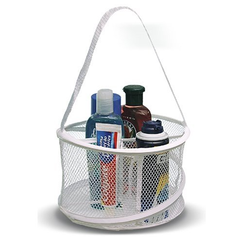 "Bathroom Personal Organizer and Shower Tote 8"" x6"" (assorted colors)"