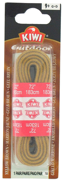 "Kiwi 66700 72"" Leather Outdoor Shoe Laces"