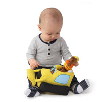 Baby GUND Light and Sounds Sports Car with Teddy Bear Stuffed Animal Plush, 9.5""