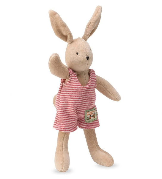 Moulin Roty Playful Spring Plush Animal, Rabbit ( Tiny Sylvain)