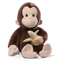 Gund Curious George with Banana 75th Anniversary Large Plush