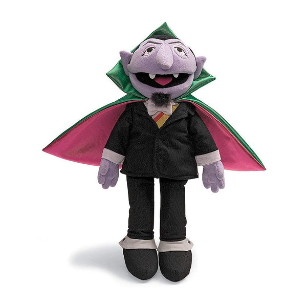 Gund Sesame Street Count von Count  Stuffed Animal