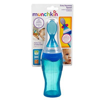 Munchkin 4 Ounce Easy Squeezy Spoon - Blue