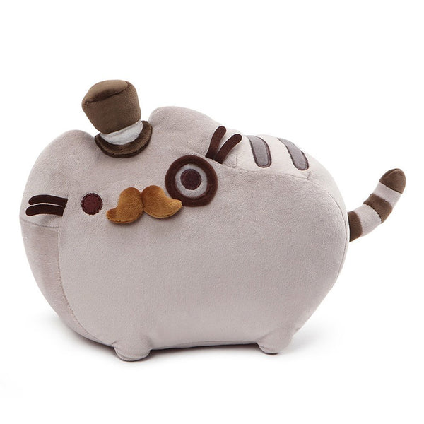 GUND Pusheen Fancy Cat Plush Stuffed Animal, Gray, 12.5""