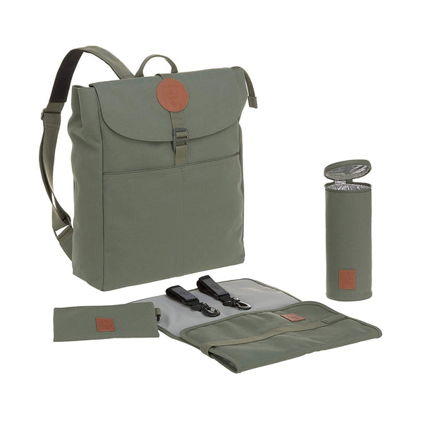 Lässig Green Label Backpack Adventure Olive Green