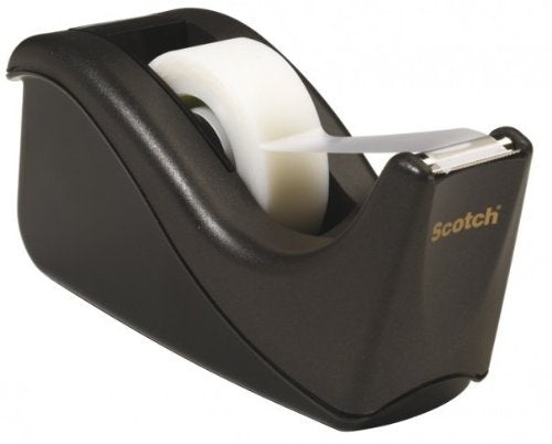 Scotch Black Desktop Tape Dispenser (3M C60-BK)