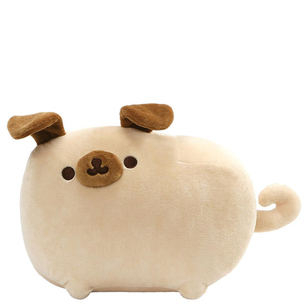 "GUND Pusheen Pugsheen Plush Pug Dog Stuffed Animal with Poseable Ears 9.5"", Tan"