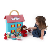 Gund Baby The Story of Red Plush Dollhouse