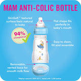 MAM Anti-Colic Bottle, Boy, 9 Ounces, 1-Count