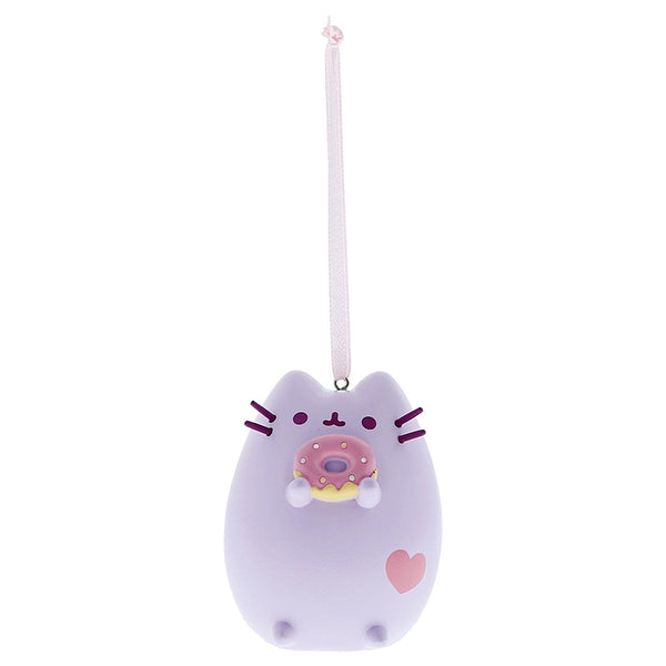 Pusheen Pastel Purple Donut Ornament