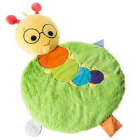 "Mary Meyer Baby Einstein First Discoveries Baby Mat, 33"", Cal Caterpillar"
