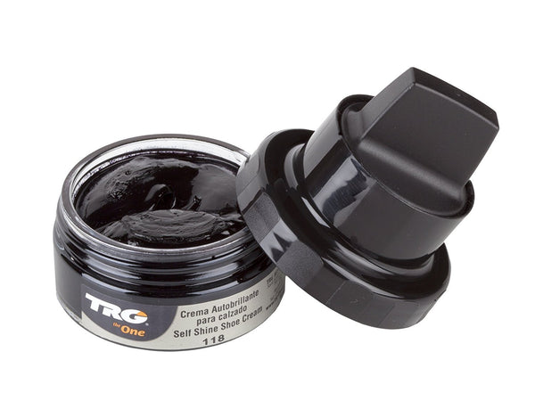 TRG the One Self Shine Shoe Cream - 1.7 Ounces Black