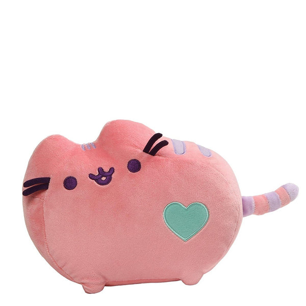 Gund Pusheen Pastel Heart Cat Plush, Pink, 12""