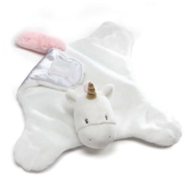 Baby GUND Luna Unicorn Comfy Cozy Stuffed Animal Plush Blanket, 24""