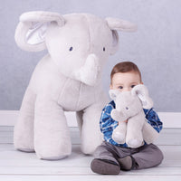Gund Baby Bubbles Elephant Plush, Gray, 10""