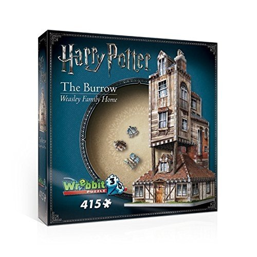 WREBBIT 3D the Burrow-Weasley Family Home 3D Jigsaw Puzzles (415 Piece)