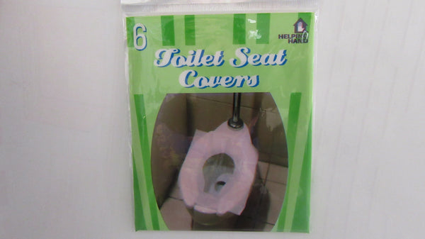 Helping Hand Toilet Seat Covers- 6 peaces in a pack
