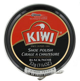 Kiwi 10111 Shoe Paste Polish 1-1/8 Ounce, Black