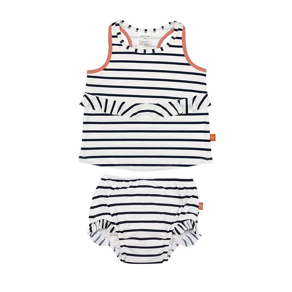 Lassig 2pc Tankini Set - Sailor Navy 24 mo.