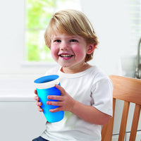 Munchkin Miracle 360 Sippy Cup, 10 Ounce 1-Pack -Blue