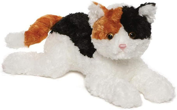 "GUND 14"" Chelsea Calico Cat Stuffed Animal Plush Toy"