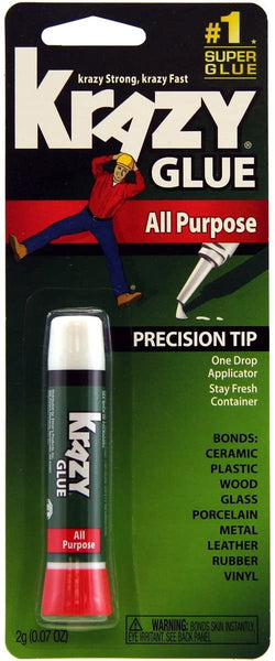 Krazy Glue All Purpose Tube 0.07-Ounce (2 g)
